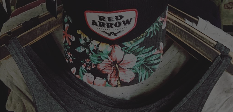 Red Arrow Hat Apparel