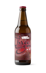 Three Some Ale Bomber 650ml