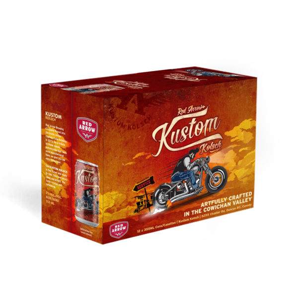 Red Arrow Brewing - Kustom Kolsch 12 Pack 355ml