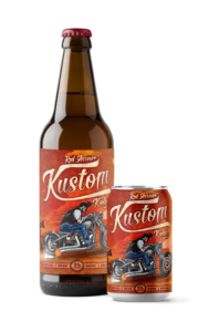 Red Arrow Brewing - Kustom Kolsch - Bomber, 6 Pack Cans