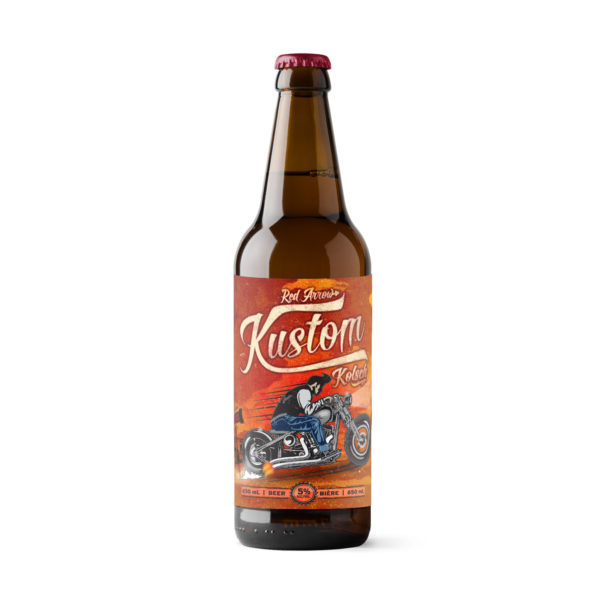 Red Arrow Brewing - Kustom Kolsch - Bombers 650ml