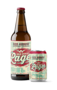 Red Arrow Brewing - Old Style Lager - Bomber, 6 Pack Cans