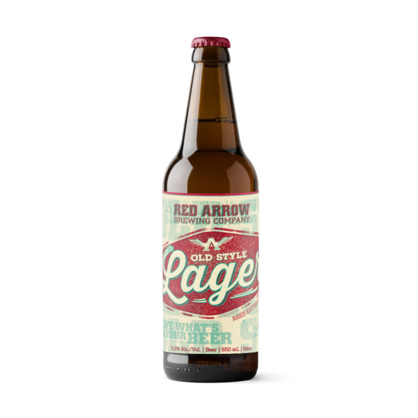 Red Arrow Brewing - Old Style Lager - Bomber