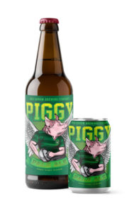 Red Arrow Brewing - Piggy Pale Ale - Bomber, 6 Pack Cans