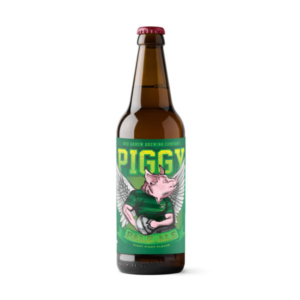Red Arrow Brewing - Piggy Pale Ale - Bomber