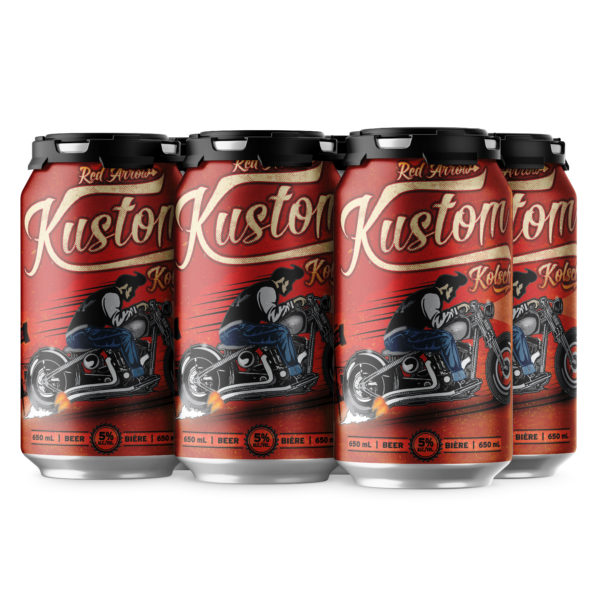 Red Arrow Brewing - Kustom Kolsch 6 Pack