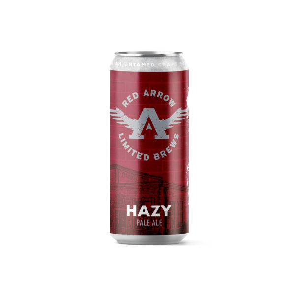 Red Arrow Brewing - Hazy Pale Ale Tall Boy 473ml