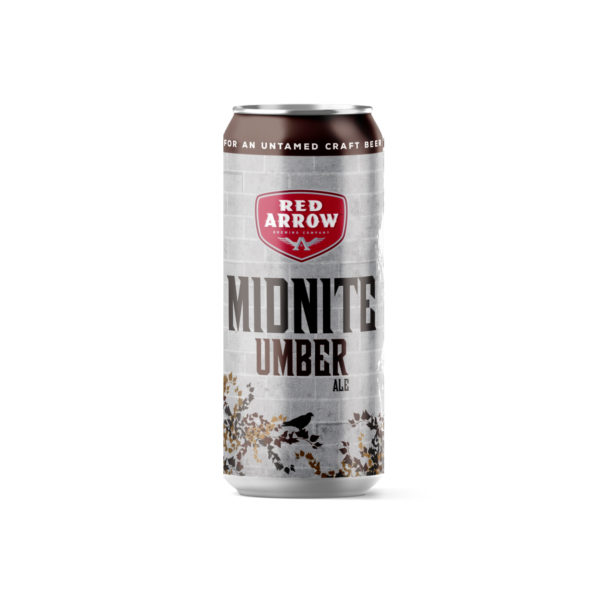 Red Arrow Brewing - Midnite Umber Tall Boy 473ml