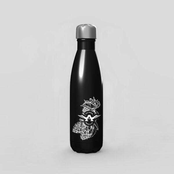 Branded Black Water Bottle