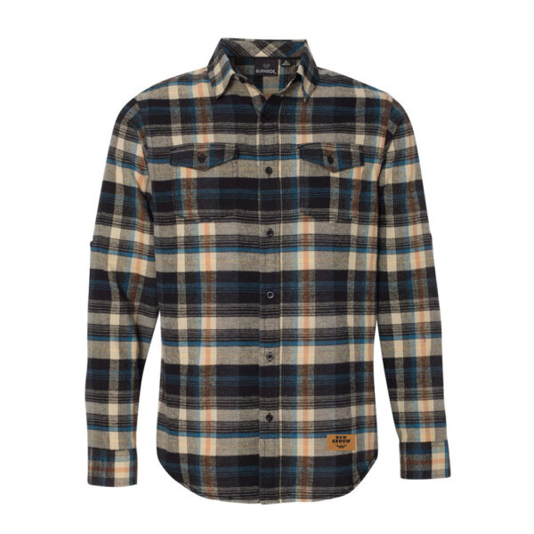 Fall Plaid Flannel Long Sleeve