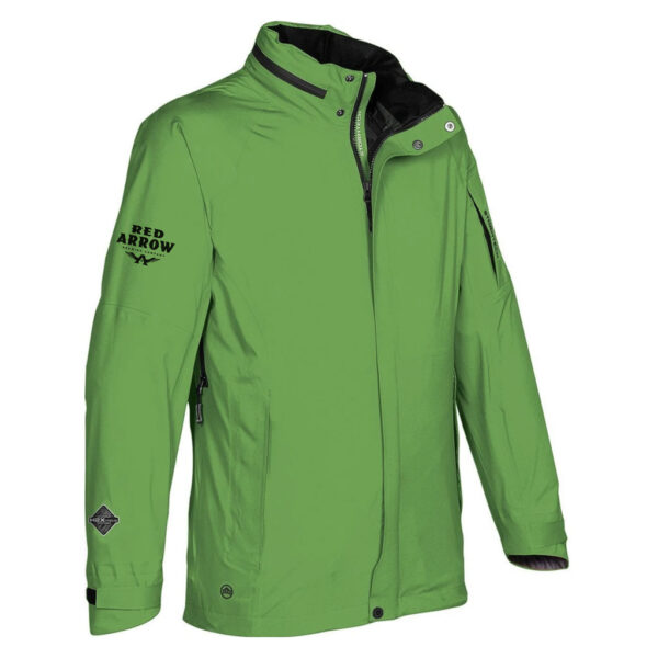 Mens Stormtech Green Jacket