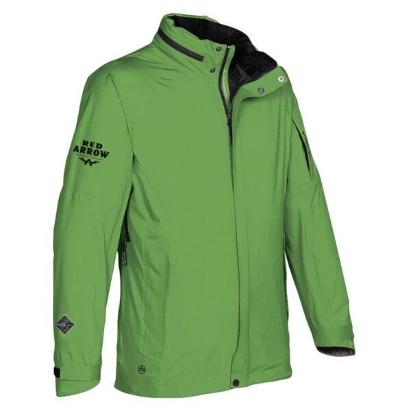 Mens Stormtech Green Jacket