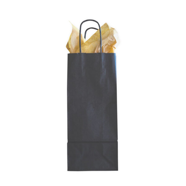 Black Beverage Gift Bag