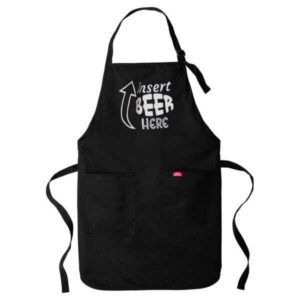 Red Arrow Brewing BBQ Apron Black