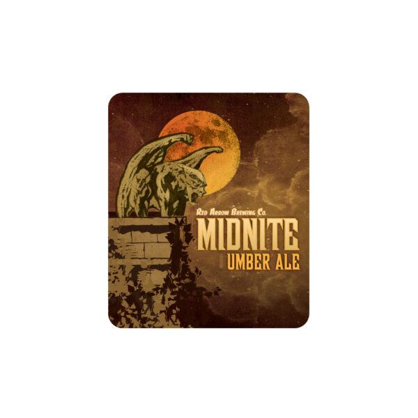Midnite Umber Ale Sticker