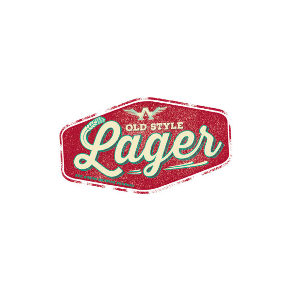 Old Style Lager Sticker