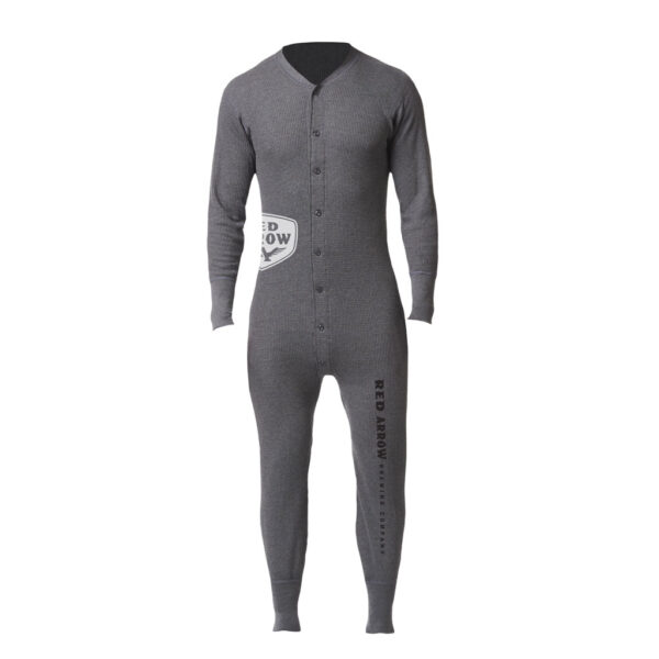 Stanfield Adult Onesie Grey