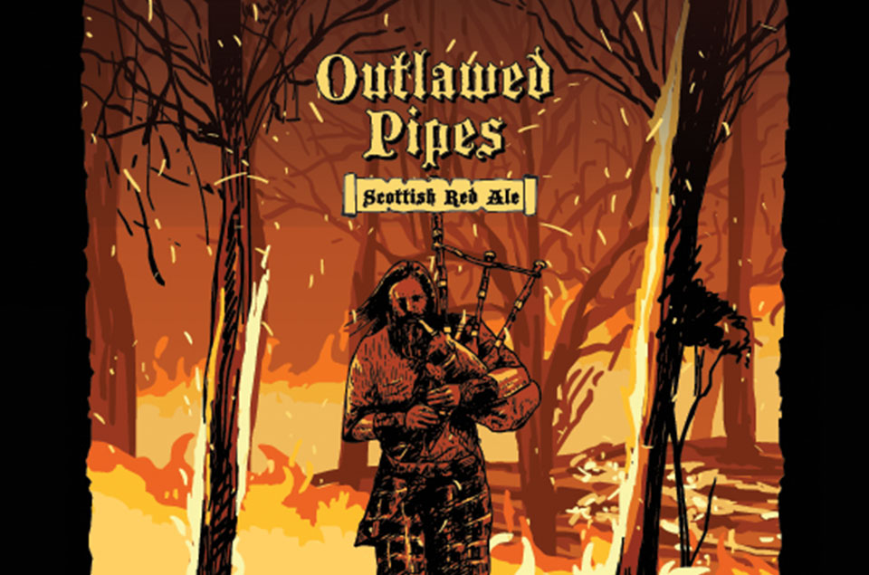 Outlawed Pipes Scottish Red Ale